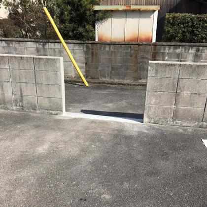 ブロック塀改修工事の事例です。