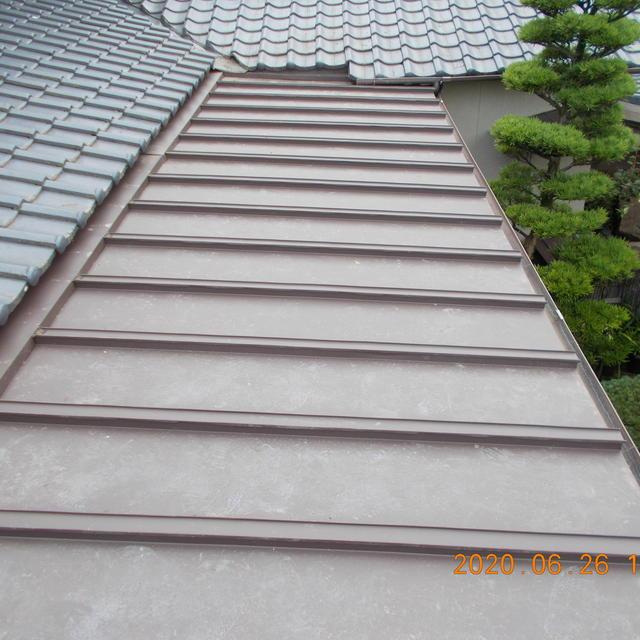 T様邸 屋根 カバールーフ施工改修です。