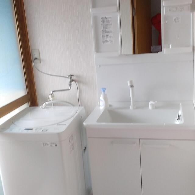 N様邸。洗面所リフォームの事例です。